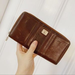 Vintage Brown Boho Leather Lauren Conrad Wallet